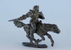 Conan el Cimmerio a caballo.