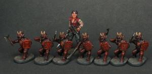 Grupo de Kobolds, de MINIFIGS.