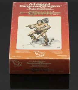 Set básico de Conan el Bárbaro, de TSR.