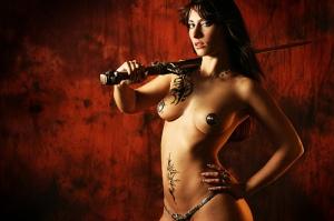 Atlantean sword. Girl not included  :(