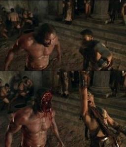 Conan Stevens en Spartacus. Toma Spoiler!!