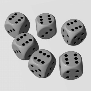 Se llama Starwars D6 porque se juega con carretadas de dados de 6 caras ^_^