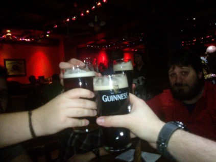 La cerveza, como la Puerta: NEGRA