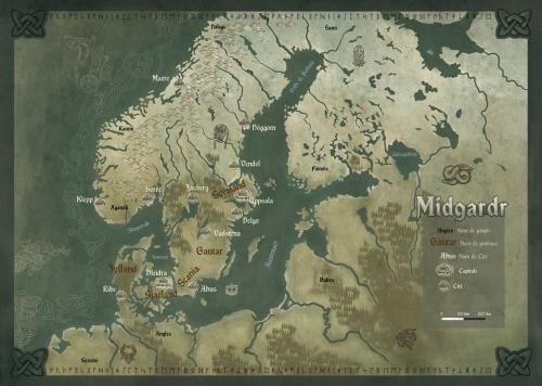 El mapa francés, tal cual