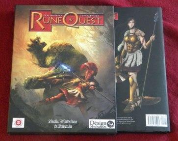 El RuneQuest de Design Mechanism, en versión Deluxe.