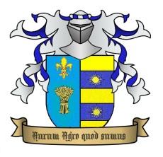 Escudo de armas de Sir Passevere des Champs Dorés