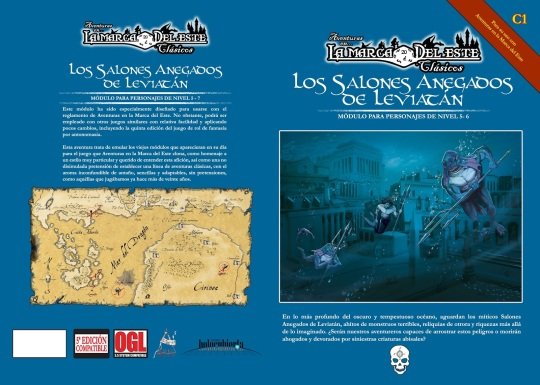 Portada y contraportada. Ilustración de Valentí Ponsa y mapa de Manolo Casado (Epic Maps).
